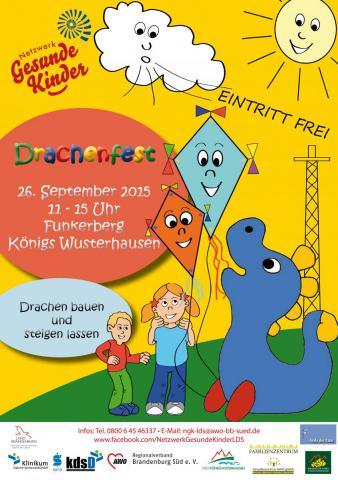 Flyer Drachenfest Königs Wusterhausen